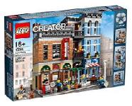 LEGO Creator - Stora byggnader i LEGO
