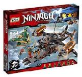 LEGO Ninjago - Följ ninjornas kamp för att skydda Ninjago