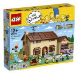 LEGO The Simpsons - Byggsatser av Kwik-E-Mart och Simpsons hus
