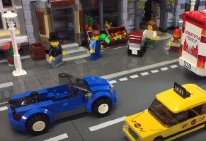 Stad i LEGO