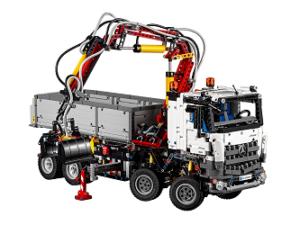 Tekniklego Lastbil med kran