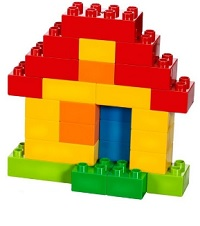 Byggklossar för de små barnen