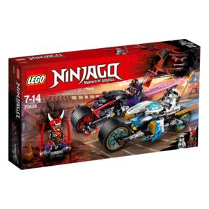 Gaturace med motorcyklar, LEGO Ninjago (70639)