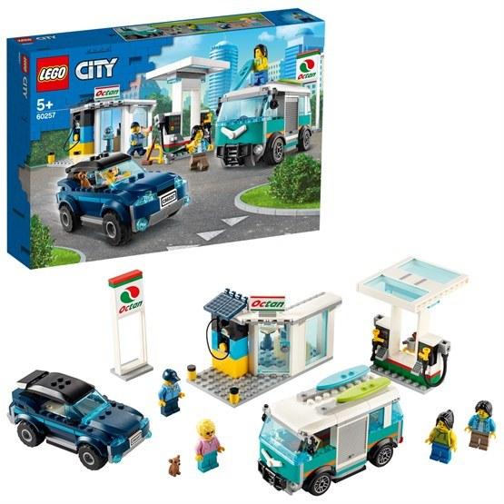 LEGO City Turbo Wheels 60257, Bensinstation