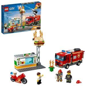 LEGO City Fire 60214 Brandkårsutryckning till hamburgerrestaurang