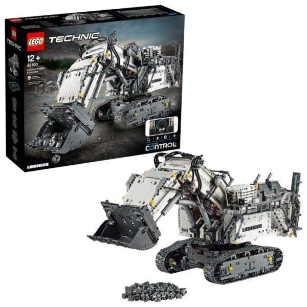 LEGO Technic 42100 Liebherr R 9800 grävmaskin