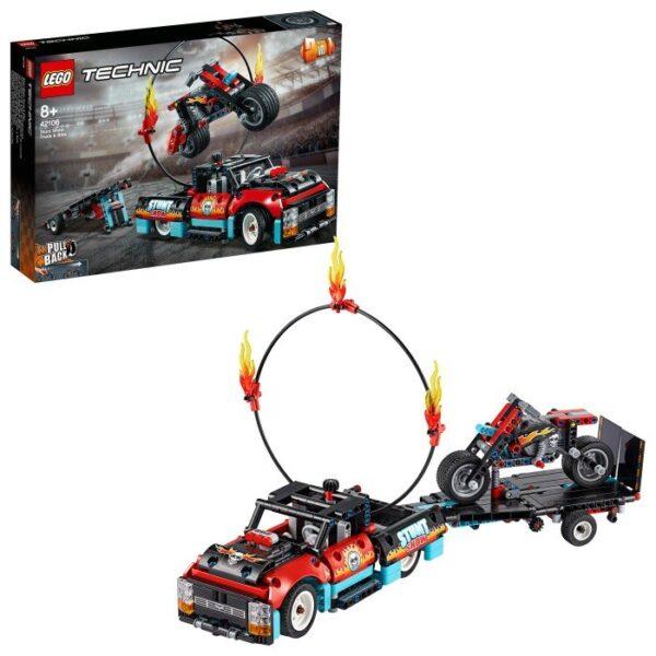 LEGO Technic 42106 Stuntuppvisningsbil & motorcykel