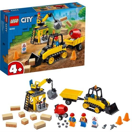 LEGO City Great Vehicles 60252, Bulldozer