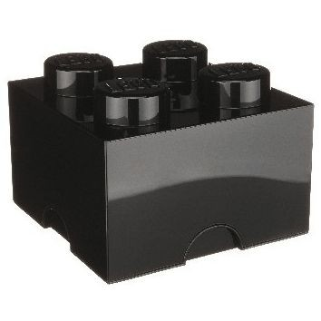 LEGO Förvaringslåda 4 (Svart)