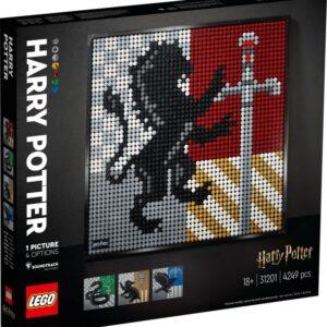 LEGO ART 31201 Harry Potter Hogwartssköldar