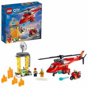 LEGO City Fire 60281 Brandräddningshelikopter