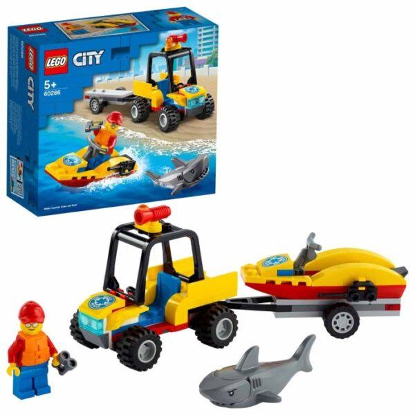 LEGO City Great Vehicles 60286 Strandräddningsfyrhjuling