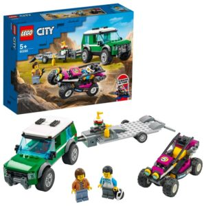 LEGO City Great Vehicles 60288 Transport med racerbuggy