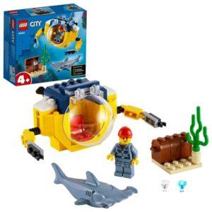 LEGO City Oceans 60263 Hav miniubåt