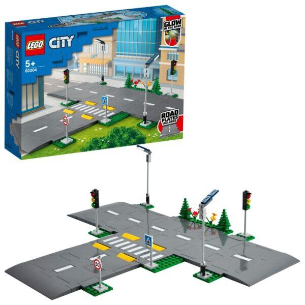 LEGO City Town 60304 Vägplattor