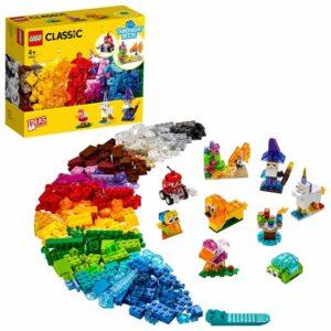 LEGO Classic 11013, Kreativa transparenta klossar