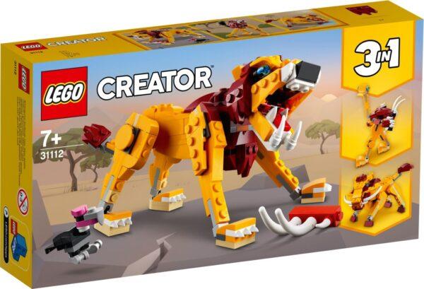 LEGO Creator 31112 Vilt lejon