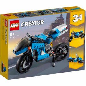 LEGO Creator 31114 Supermotorcykel