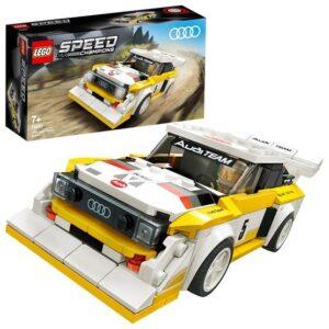 LEGO Speed Champions 76897, 1985 Audi Sport quattro S1