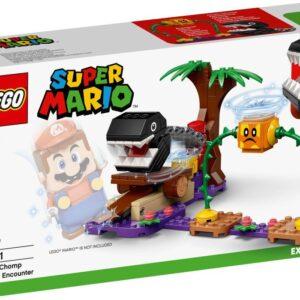 LEGO Super Mario 71381 Chain Chomps djungelstrid – Expansionsset
