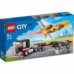 LEGO City Great Vehicles 60289 Transport med flyguppvisningsjet