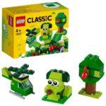 LEGO Classic 11007, Kreativa gröna klossar