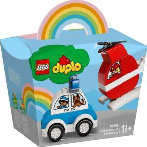 LEGO DUPLO My First 10957 Brandhelikopter och polisbil
