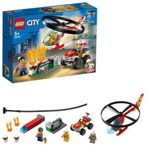 LEGO City Fire 60248, Räddning med brandhelikopter