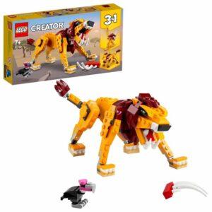 LEGO Creator 31112, Vilt lejon