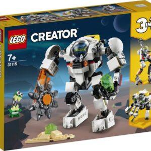 LEGO Creator 31115 Rymdgruvrobot