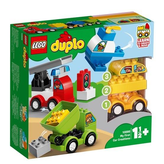 LEGO DUPLO My First 10886, Mina första bilskapelser