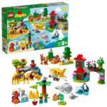 LEGO DUPLO Town 10907, Världens djur