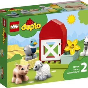 LEGO DUPLO Town 10949 Bondgårdsdjur att sköta om