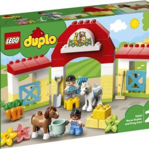LEGO DUPLO Town 10951 Häststall och ponnyskötsel
