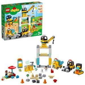 LEGO Duplo 10933, Lyftkran och byggnadsarbete