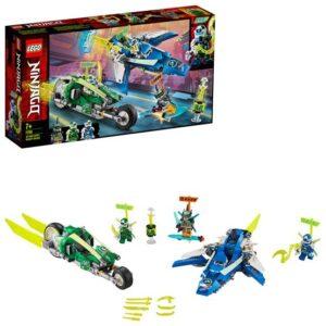 LEGO Ninjago 71709, Jay och Lloyds racerfordon