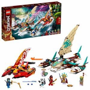 LEGO Ninjago 71748, Havsstrid med katamaran