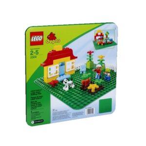 LEGO DUPLO - Stor Grön Byggplatta 2304