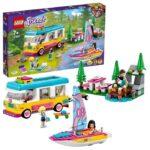 LEGO Friends 41681 Husbil och segelbåt i skogen