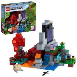 LEGO Minecraft 21172 Den förstörda portalen