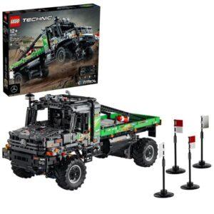 LEGO Technic 42129 Mercedes-Benz Zetros fyrhjulsdriven terränglastbil