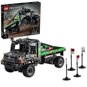 LEGO Technic 42129, Mercedes-Benz Zetros fyrhjulsdriven terränglastbil